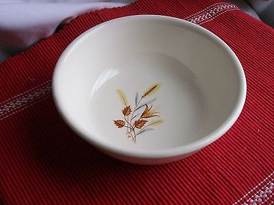 TST CHATEAU BUFFET~Cereal Bowl~WHEAT Design~Taylor Smith & Taylor ~WHITE