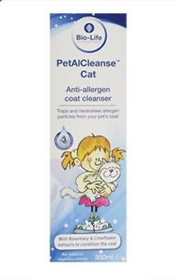 PetalCleanse Allergy Relief: reduce human allergic response to Cats & small pets