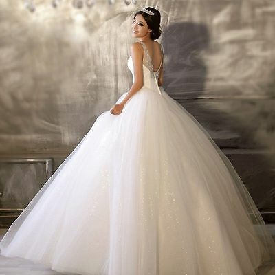 @@@ New Robe de mariée mariage soirée wedding evening dress