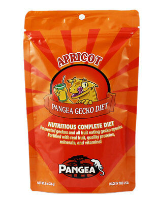 Pangea Fruit Mix Complete Gecko Diet -  Apricot Crested Gecko Food- All Sizes
