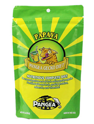 Pangea Fruit Mix Complete Gecko Diet -  Papaya Gecko Food - All Sizes