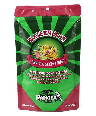 Pangea Fruit Mix Complete Gecko Diet - Watermelon Crested Gecko Food - All Sizes