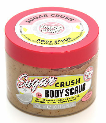 Soap And Glory Sugar Crush Body Scrub With Smashed Brown Sugar & Lime 300ml