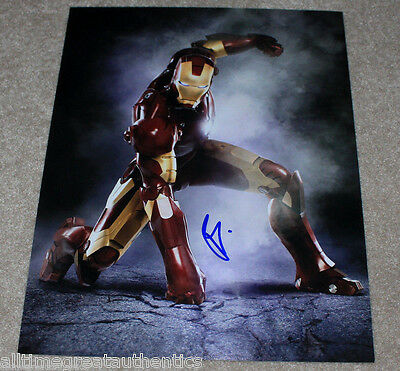 ROBERT DOWNEY JR. SIGNED IRON MAN 11X14 PHOTO w/COA CAPTAIN AMERICA: CIVIL WAR