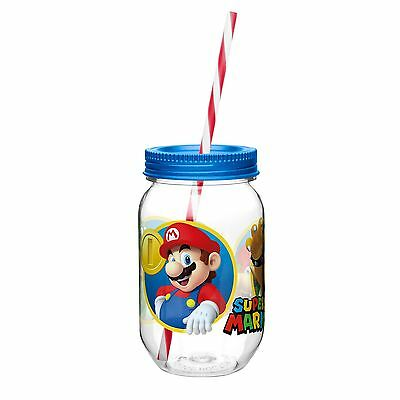 Super Mario Bros.-Mason Jar Cup