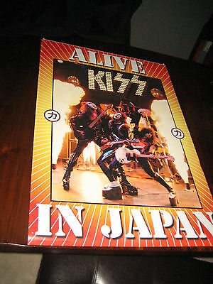 AWESOME KISS POSTER ALIVE JAPAN TOUR 2003 ALIVE PICTURE OUTTAKE GENE ACE PETER