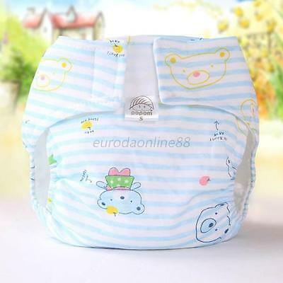 Lovely Infant Kids Soft Reusable Nappy Covers Inserts Cloth Washable Diapers Hot