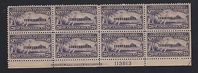 Philippines Commonwealth 1939 Special Delivery Bottom PB8 - Mint