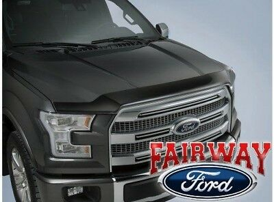 15 thru 18 F-150 F150 OEM Genuine Ford Parts Smoke Hood Deflector Bug Shield NEW