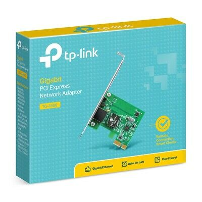 Windows 10 OK TP-LINK TG-3468 Gigabit PCI-Express Network Adapter  (F13)