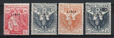 COLONIE LIBIA 1915 Croce Rossa MH* (CK)