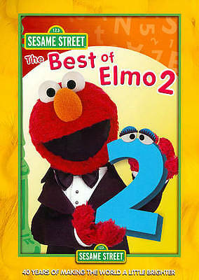 Sesame Street: The Best of Elmo, Vol. 2 (DVD, 2010)