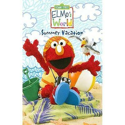 Elmo's World - Summer Vacation (DVD, 2008)