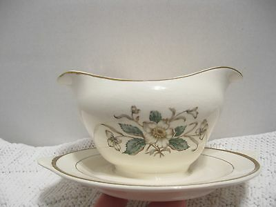 Knowles Buttercup  gravy boat with serving plate  MORE in store !!