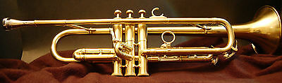 Olds Mendez Bb Trumpet with Mendez #2 Mouthpiece and Yamaha Single Case
