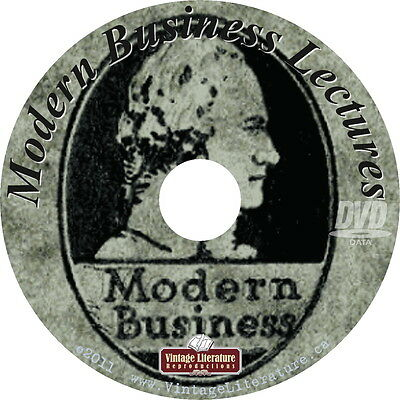 Modern Business Lectures 1917 - 1919 { 20 Vintage Business Success Books} on DVD