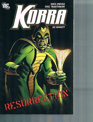 Kobra: Resurrection  by Greg Rucka & Eric Trautman TPB 2009 DC Comics Checkmate