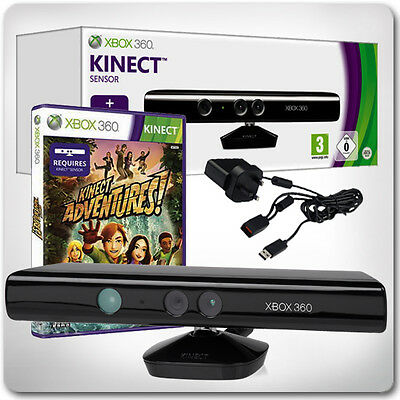 Kinect Sensor for XBox 360 Bundle - Boxed (in Great Condition)