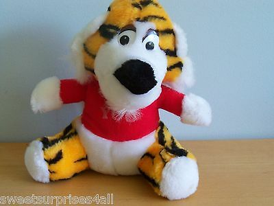 Vintage Plush Tiger I Heart Love You  Moray Toy stuffed animal m galapo