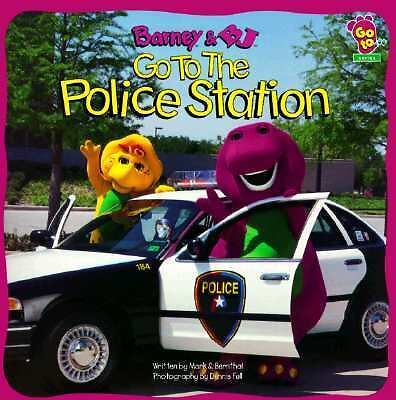 Barney And BJ Go To The Police Station