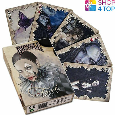 Bicycle Favole Playing Cards Deck By Victoria Frances Gothic Fantasy Art Usa New