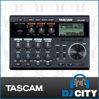 Tascam DP-006 6-Track Digital Recording Station FREE SHIPPING - DJ City