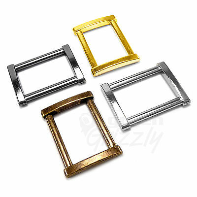 Solid Rectangle Metal Square Ring Belt buckle for webbing 25 mm 1""