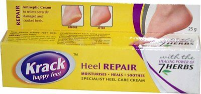 Krack Cream | For rough & cracked heels, chapped hands, fissures & chilblains