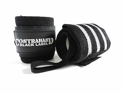 CLEARANCE 50% OFF! Contraband Black Label 1001 Wrist Wraps - ALL Tension/Length