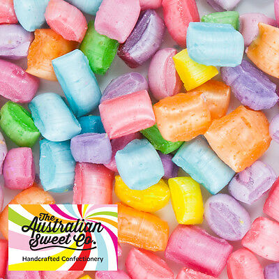 500g Tiny Tots Rock Candy Fruit Assorted boiled bulk lollies Wedding Favours