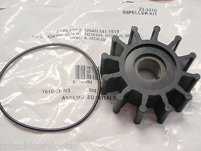 Onan Generator Parts Sierra Impeller Kit 23-3310 Replaces 541-1519 See List