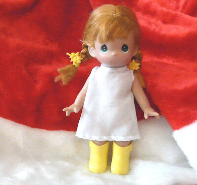Precious Moments Doll 9in. Plastic 2002 Red Hair