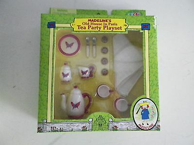 Madeline's Old House In Paris Tea Party Play Set 2001 Nib Madeline 2001