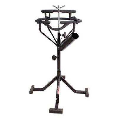 Tusk Adjustable Height Motorcycle Dirt Bike Tire Changing Stand Station MX Moto
