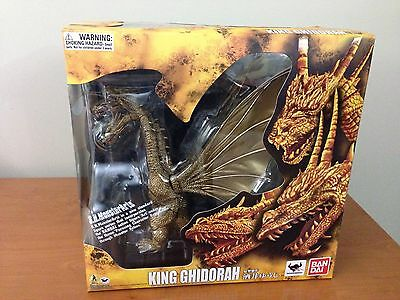 S.H. Monsterarts King Ghidorah figure, mint condition with box