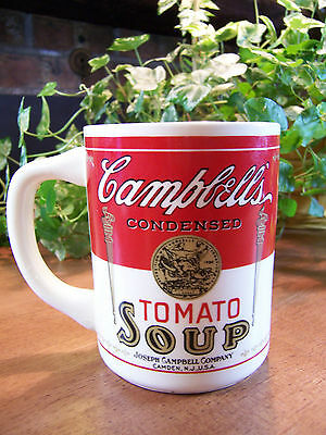 Vintage CAMPBELL'S TOMATO SOUP MUG CUP Joseph Campbell Company *GREAT CONDITION*