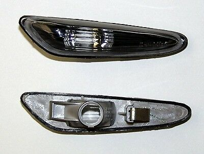 Bmw 3 Series E46 Estate / Touring (01-05) Side Indicator Repeaters - Black