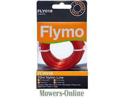 15M STRIMMER LINE 1.6mm FOR FLYMO TWIST /'N/' EDGE 9648581-25 OREGON DUOLINE+