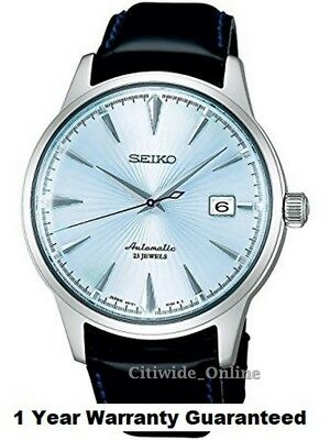 Brand New Seiko SARB065 Automatic Cocktail Time Dress Men Watch UK TAX FREE
