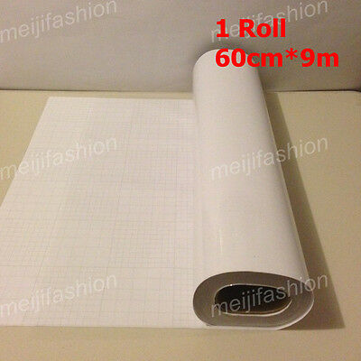 6 Rolls VINYL Sticker Clear Transfer Film Paper Cutter Cutting Plotter 60cm*9m