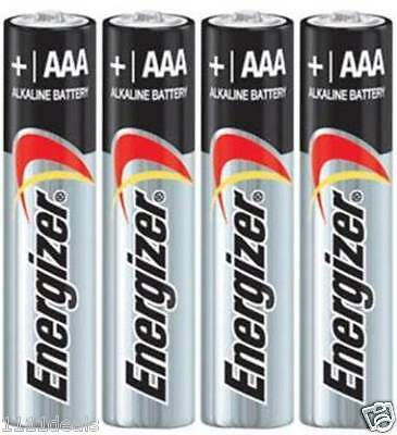 4 Energizer Max E92 AAA Alkaline Batteries Made in USA Exp. 2027