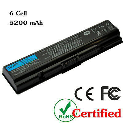 Laptop Battery for Toshiba Satellite L300D L203 L205 PA3534U-1BRS 6 CELL UK NEW
