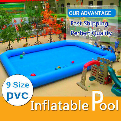 Inflatable Pool for water walking ball zorb ball and other games (9 SIZE )!