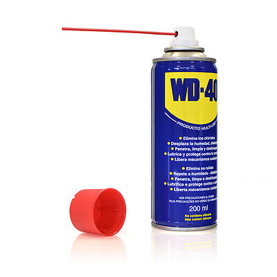 WD-40 Spray 200 ml  Aceite Multiuso Lubricante Protege Dielectrico WD40