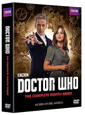 Doctor Who: Season 8 eight 8th DVD Series (5 disc dvd set) Fast Shipping!