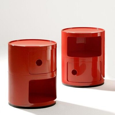 Componibili Kartell Rosso