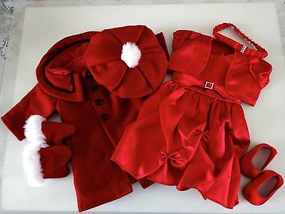 """NEW-DOLL CLOTHES DRESS/COAT/SHOES_Lot 110 fit 18""""Doll such as American Girl Doll"""