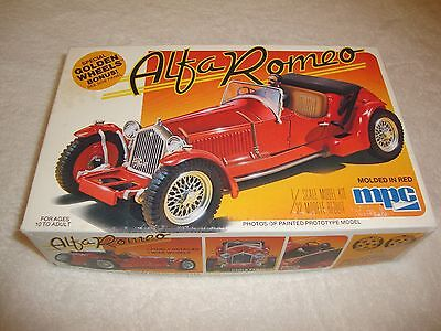 Alfa Romeo MPC 1/32 Scale Unstarted Kit! Molded in Red 1-0903