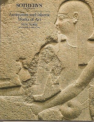Sotheby's Antiquities and Islamic Works of Art - November 21 and 22 1985