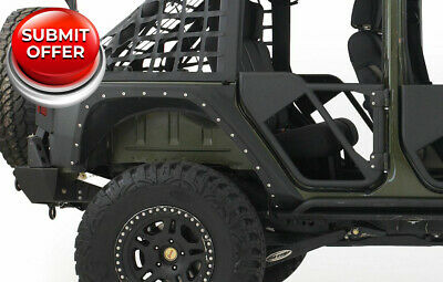 Smittybilt 2007-2016 Jeep Wrangler Unlimited JK XRC Armor Rear Fenders #76882